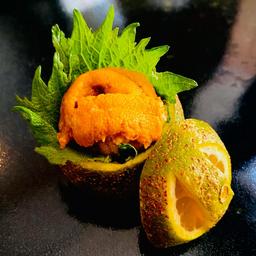 Sashimi - Uni no Limão (Ouriço)