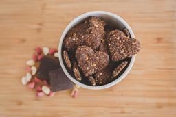 Biscoito amendoim+chocolate 60g