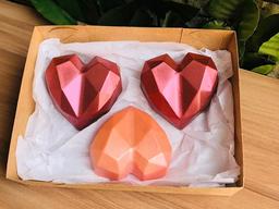 Trio Coração Diamond