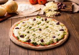 Pizza Grande Brócolis e Catupiry