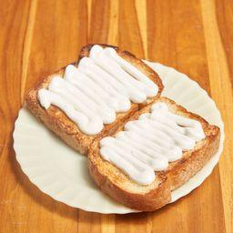 Pão de Forma na Chapa com Requeijão