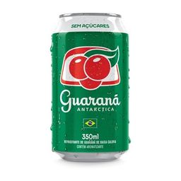 Guaraná Antarctica Zero Açúcar 350ml