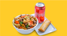 Yakissoba  + 1 Rolinho  + Coca-Cola
