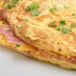 Omelete Presunto e Queijo