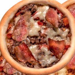 Carne Bacon e Queijo