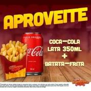 Batata Frita e Coca-Cola Original - 350ml