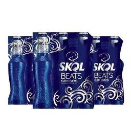 Skol Beats Azul 313ml - 6 Unidades