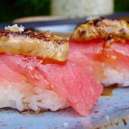 Joe atum com foie gras