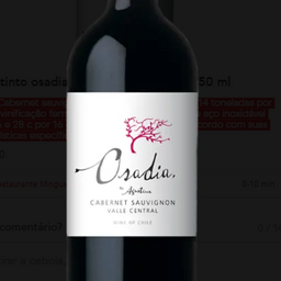Vinho Tinto Osadia Cabernet Sauvignon 750 ml