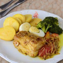 Bacalhau No Forno à Portuguesa - Individual