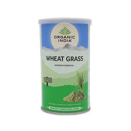 Wheatgrass Grama de Trigo Organic India Em Pó Lata 100g