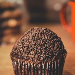 Cupcake Chocolate com Brigadeiro - 142g