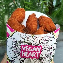 """Porção de Bolinho de """"Bacalhau"""" Vegan (7 Unid.)"""