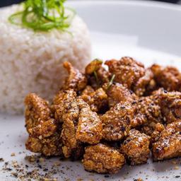 Spicy Chicken Domburi