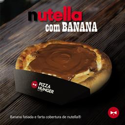 Pizza de Nutella com Banana - Broto