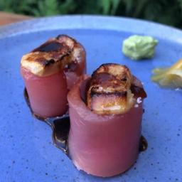 Djo atum com foie gras