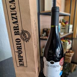 Vinho casa verrone syrah tinto seco 2018 750ml