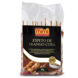 Espeto Frango Coxa - 10 espetos