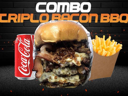 Combo Triplo Bacon Bbq