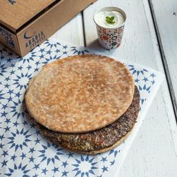 Sanduiche de Kafta com Coalhada