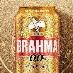Brahma Zero - Lata 350ml