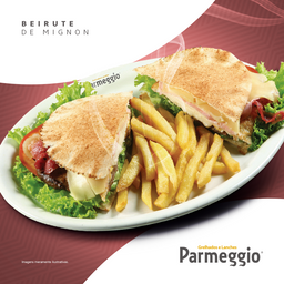 Beirute de Mignon  + Refrigerante - 350ml