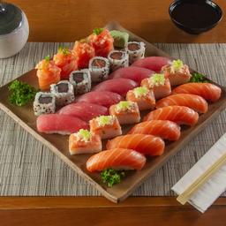 Monte sua Porção de Sushi