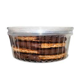 Stroopwaffle com Cobertura de Chocolate
