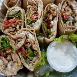 Combo de Shawarma de Frango (kebab) 500g