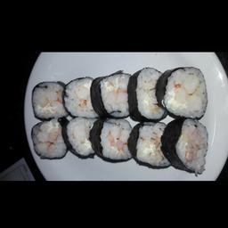 Uramaki camarão - 10 unidades