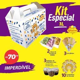 Kit Família Glacial - 1L