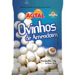 OVINHOS DE AMENDOIM AGTAL DE 150 GR.