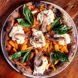 Pizza Burrata e Alici