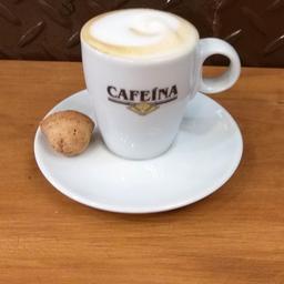 Café com leite pequeno 100ml