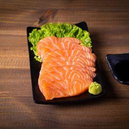8 sashimi salmão