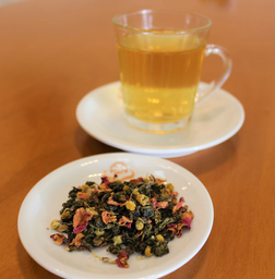 Chá Oolong Flores De Ásia