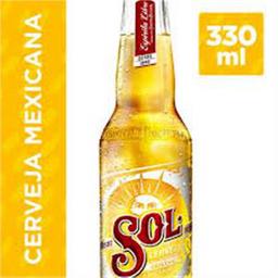 Cerveja Sol Mexicana 330ml
