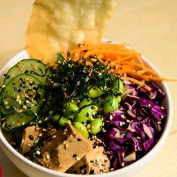 Poke Vegetariano Asiático