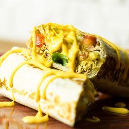 Burrito Frango desfiado e cheddar polenghi