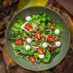 Salada Verde com Cogumelos
