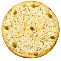 Pizza de Palmito com Requeijão
