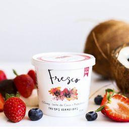 Iogurte de Coco Fresco - Frutas Vermelha