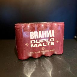 Brahma Duplo Malte Lata Unidade 350ml
