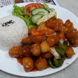 咕噜肉饭 Combo 7