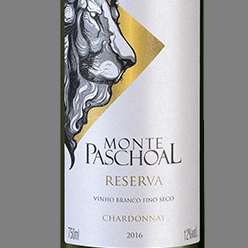 Vinho m. paschoal chardonnay branco reserva 2018 750ml