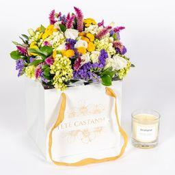 Tetê Castanha Flowers Bag Especial Dia das Mães II