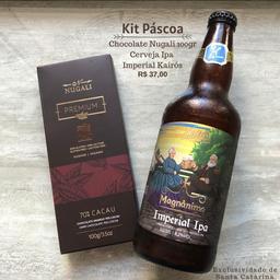 Kit Presente Cerveja Kairós + Chocolate Nugalli