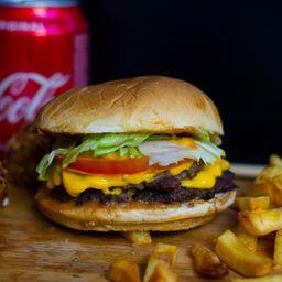 Trio American Smash Burger