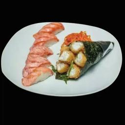 Combinado Hokkaido - Temaki + 5 Peças (EM DOBRO)
