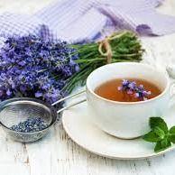 Chá de alfazema ( lavanda )